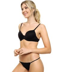 conjunto negro cocot push up