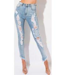 akira ciao bella distressed skinny jeans