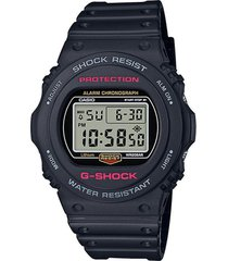 reloj g shock dw-5750e-1dr negro resina