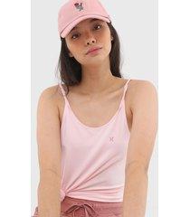 regata hurley alã§as torcidas logo rosa - rosa - feminino - dafiti