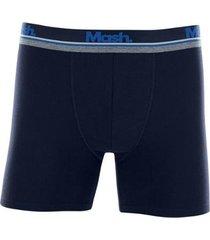 cueca mash boxer longa cotton masculina