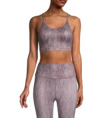 all fenix women's isabelle sports bra - size m