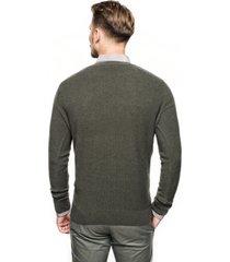 sweter cilian półgolf oliwkowy