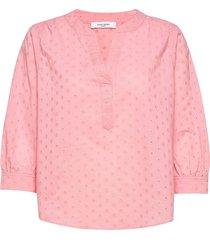 blouse 3/4-sleeve blouse lange mouwen roze gerry weber edition