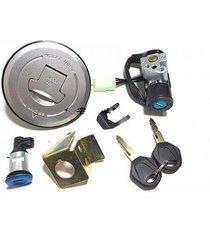 ignition switch gas cap key set for honda grom msx125 motrac m2 m3 skyteam 14-15