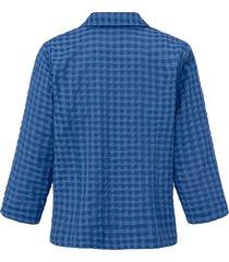 blouse 3/4-mouwen van mayfair by peter hahn blauw
