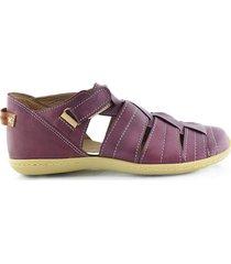 sandalia violeta briganti agua patagona