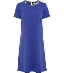 abito di jersey con cordone (blu) - bodyflirt