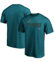 majestic san jose sharks men's locker room prime t-shirt