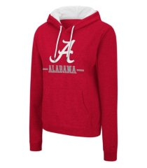 colosseum alabama crimson tide women's genius hooded sweatshirt