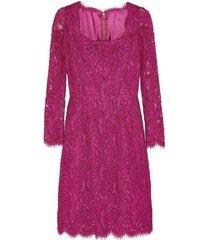guipure floral kanten jurk