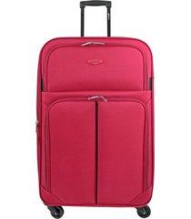 maleta de viaje mediana  rojo speed - explora