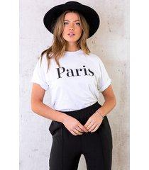 paris top oversized wit