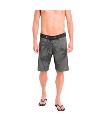 bermuda calvin klein swimwear masculina palm print preta