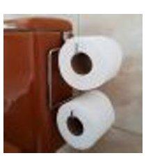 porta papel higiênico para caixa descarga suporte papeleira