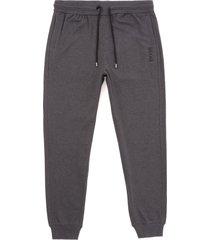 boss contemp cuffed track pants - medium grey 50392048-039