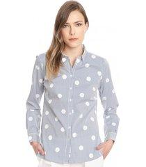 blusa delia multicolor tommy hilfiger