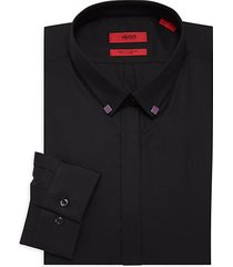 eurin extra slim fit stretch tipped collar dress shirt