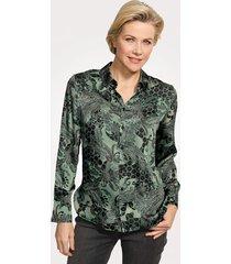blouse mona dennengroen::groen