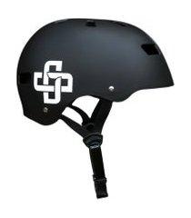 capacete preto fosco fita preta iron pro