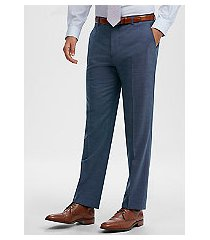 1905 collection tailored fit flat front dress pants with brrr°® comfort by jos. a. bank