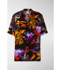marcelo burlon county of milan all over flowers hawaii shirt