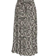 sc-elsa knälång kjol multi/mönstrad soyaconcept