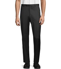standard-fit virgin wool dress pants