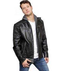 chaqueta cuero negra todopiel