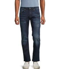 buffalo david bitton men's evan-x slim jeans - indigo - size 40 30