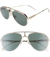men's carrera eyewear glory 58mm aviator sunglasses -