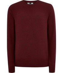 mens red burgundy essential sweater