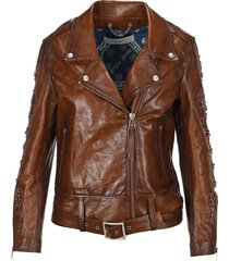 golden goose victoria biker jacket