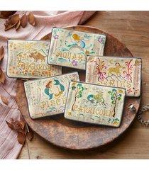 sundance catalog women's zodiac zippered pouch