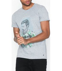 solid benno t-shirt t-shirts & linnen grey