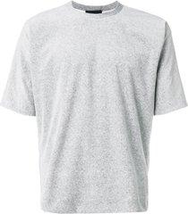 3.1 phillip lim reversible vintage fit t-shirt - grey