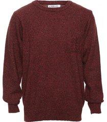 sweater bordó berkland colty bolsillo