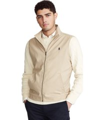 polo ralph lauren men's twill vest
