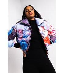 akira azalea wang renn art multi puffer jacket