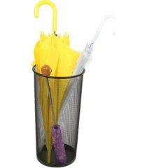 mind reader metal mesh umbrella holder basket