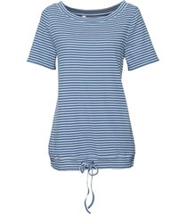 maglia a righe a mezze maniche (blu) - john baner jeanswear