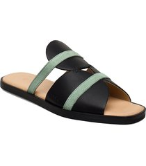 189g black niente menthe shoes summer shoes flat sandals svart gram