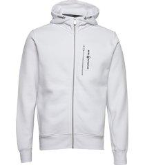 bowman zip hood hoodie trui wit sail racing