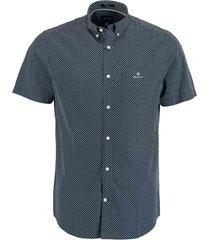 gant overhemd micro dot blauw rf 3012271/409
