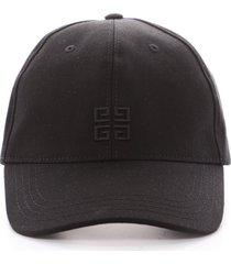 givenchy men's logo embroidered baseball cap in black at nordstrom