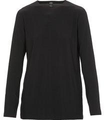 norma kamali plain color sweater