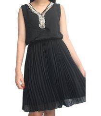 vestido  it girls v1255 negro
