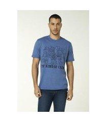 camiseta hering slim efeito lavanderia nintendo masculina