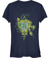 fifth sun harry potter goblet of fire beaux batons crest women's short sleeve t-shirt