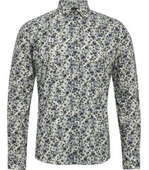 8690 - iver 2 skjorta casual multi/mönstrad sand